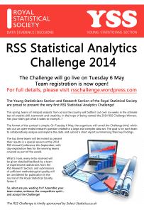RSS Statistical Analytics Challenge 2014