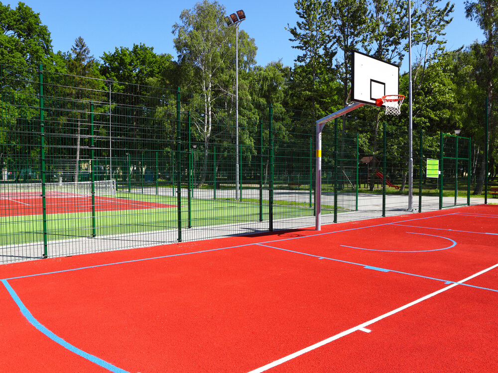 Calculating accurate estimates of sports provision and for Outdoor basketball court cost estimate