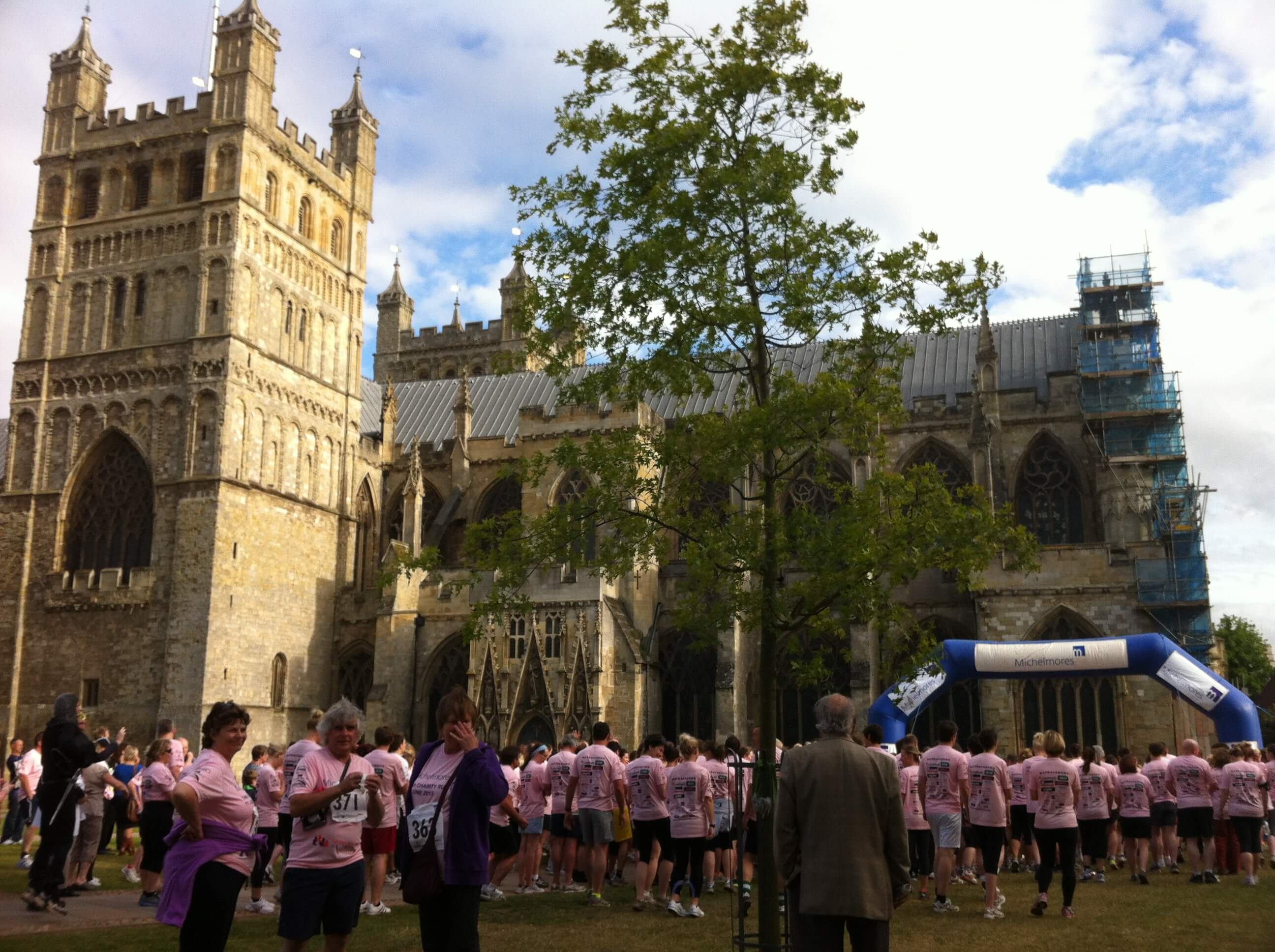 Michelmores 5k - Cathedral Green