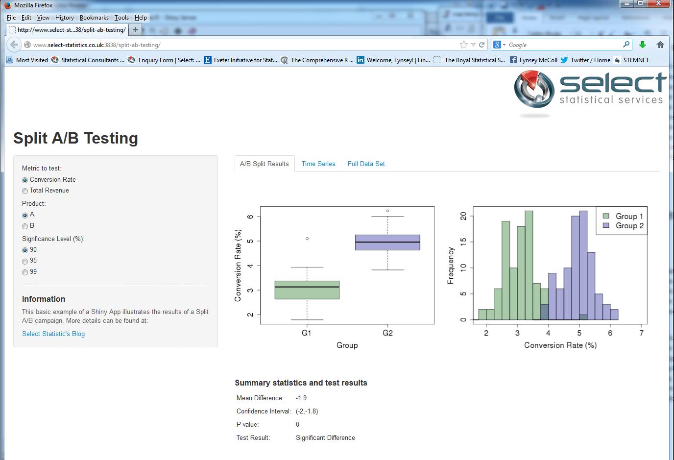 Split-ab-testing-web-app
